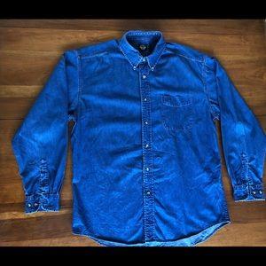 Dockers Denim Long Sleeve Shirt